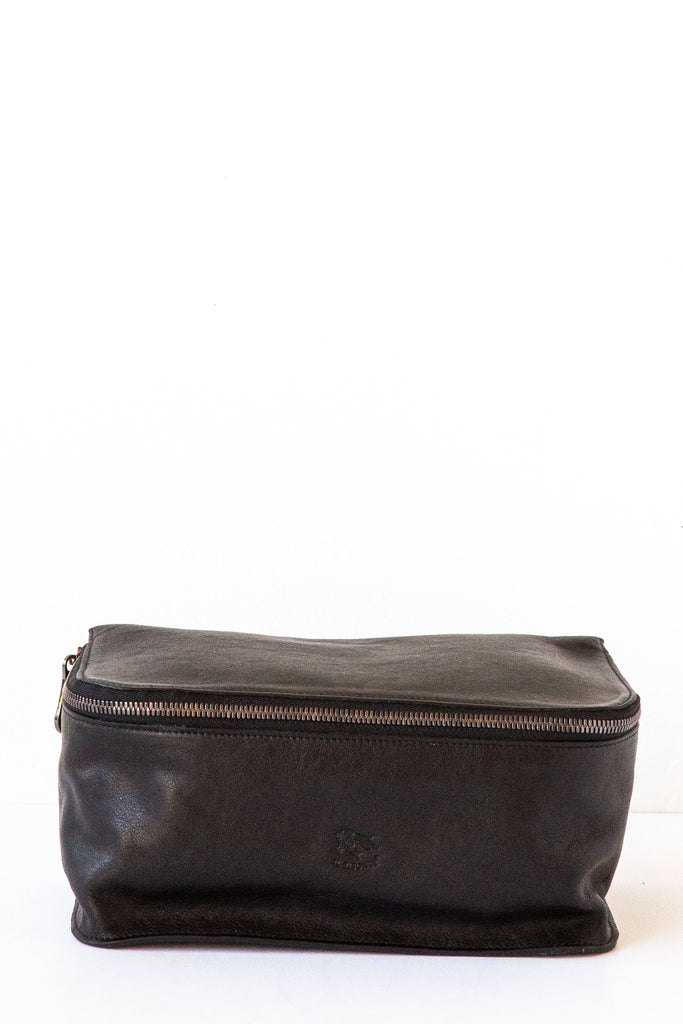 il bisonte black beauty case/ dopp kit
