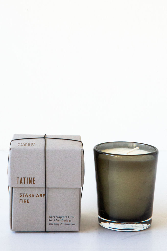 Tatine Stars are Fire - Forest Floor Candle