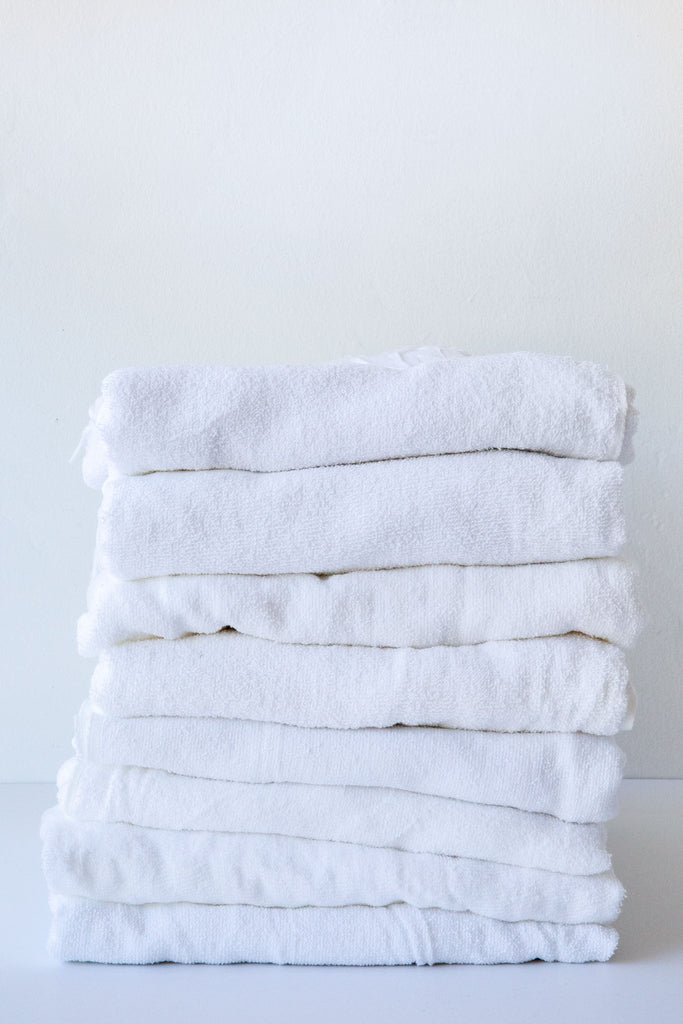 Liwan White Large Towel