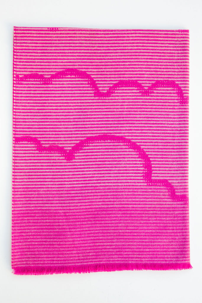 Ama Childrens Pink Cloudline Throw