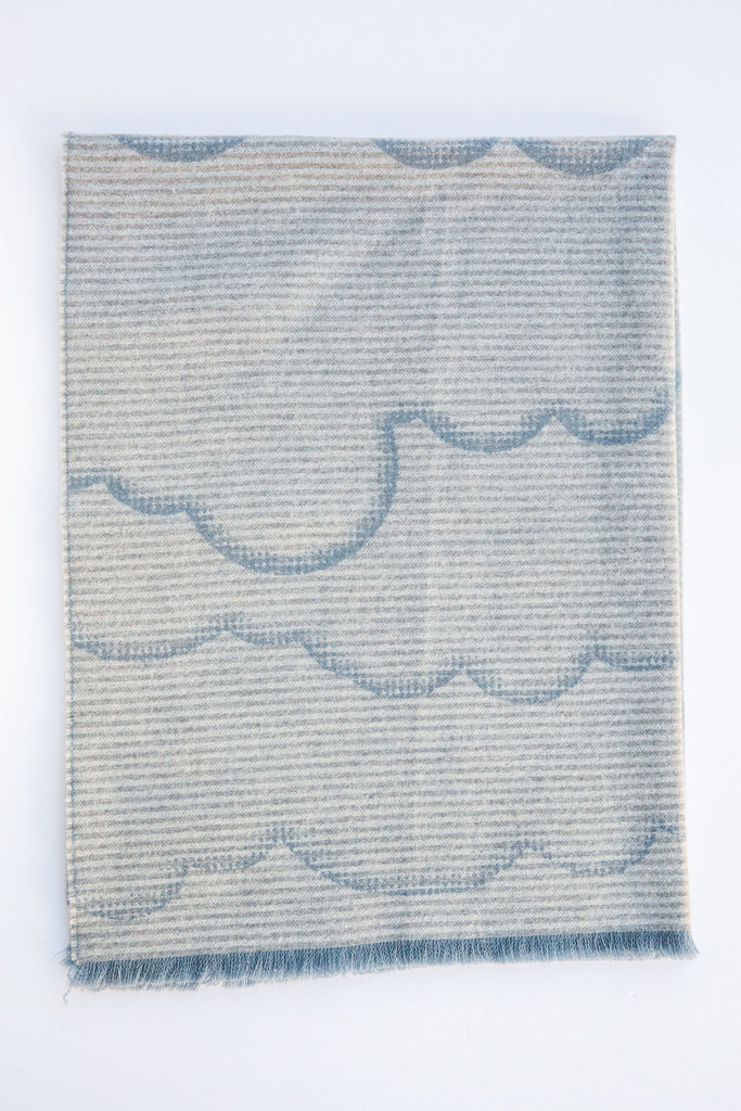 Ama Childrens Sky Cloudline Throw
