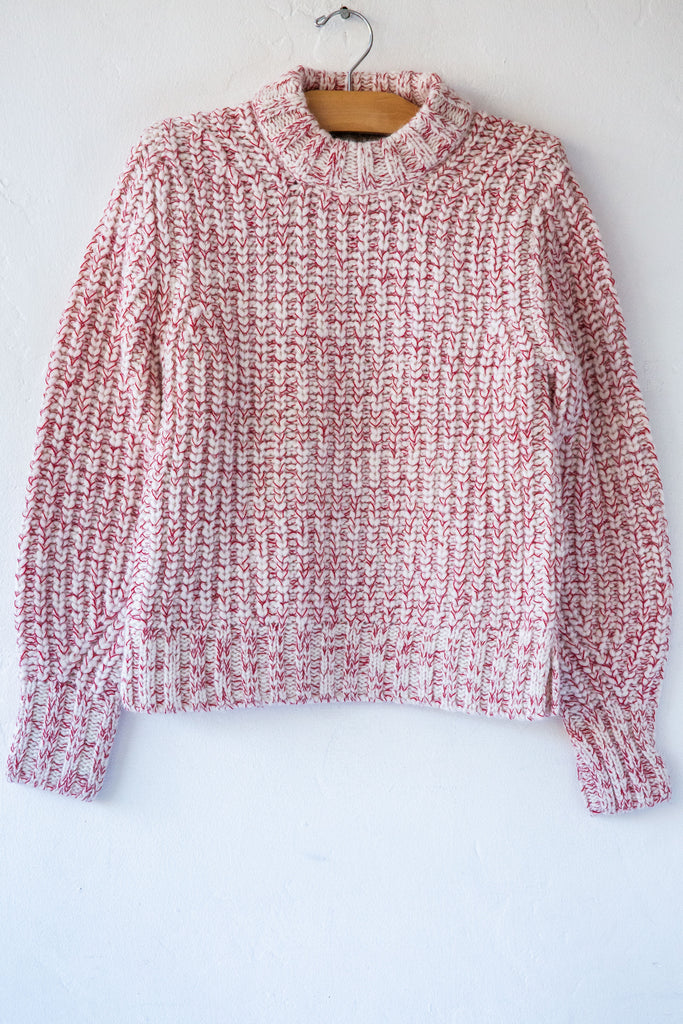 Anntarah White/Red Nayra Sweater