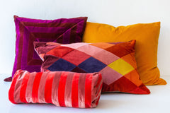 Christina Lundsteen Emma Red Cushion