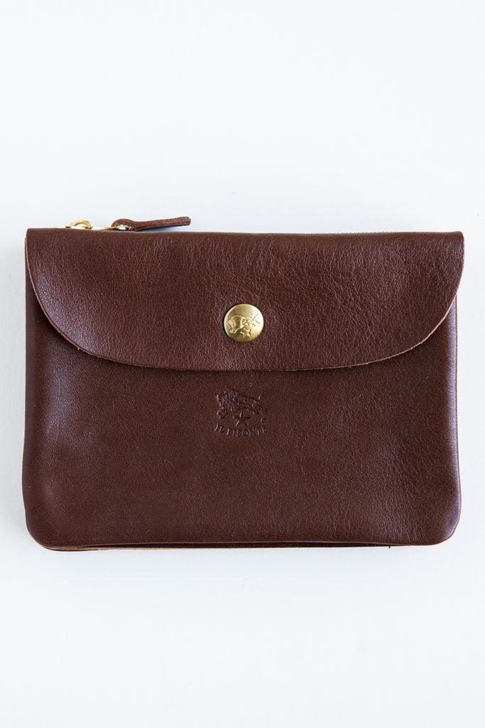 il bisonte c0346p brown wallet