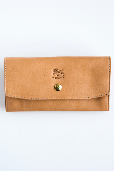 il bisonte c1008p natural wallet