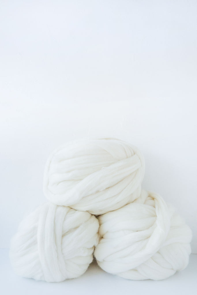 KINUA Super Chunky Milk Yarn