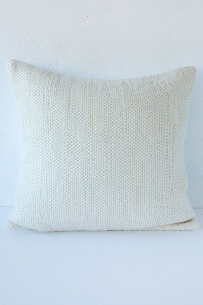 KINUA White Timeless Pillow 20x20