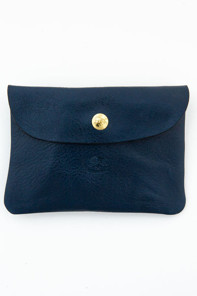 il bisonte blue passport envelope