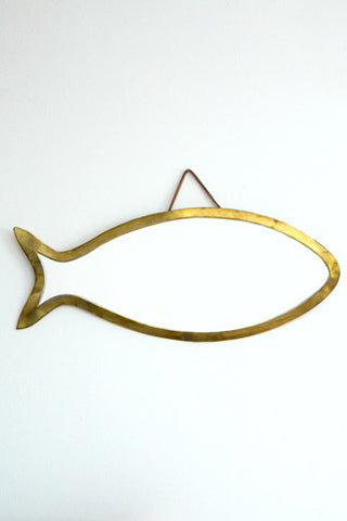honore brass miroir poisson