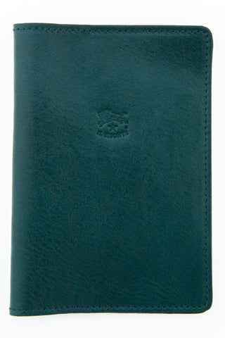 il bisonte green franklyn passport holder
