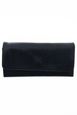 il bisonte black continental wallet