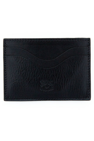 il bisonte black card case