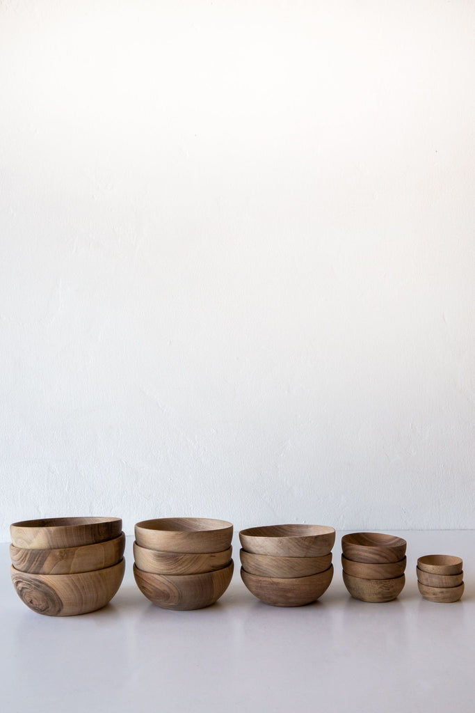 Lost & Found Walnut Bowls