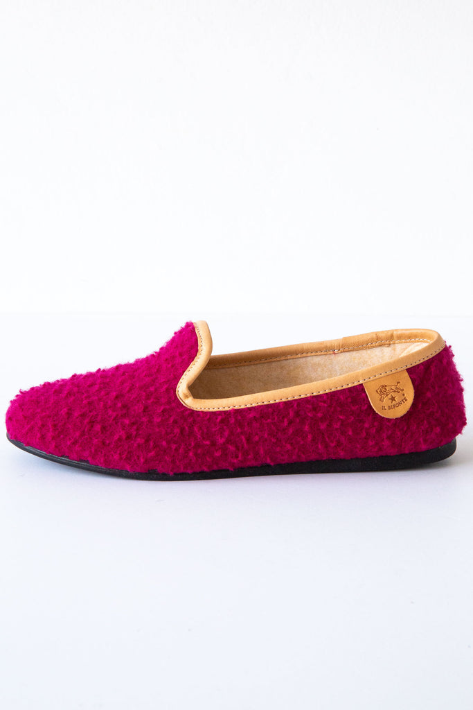il bisonte fuxia slipper