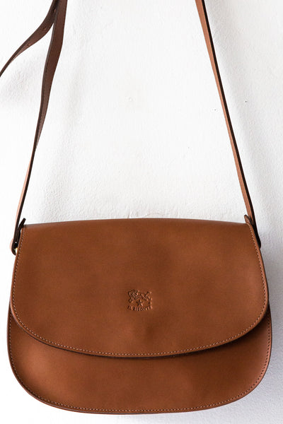 il bisonte lt brown large irina bag