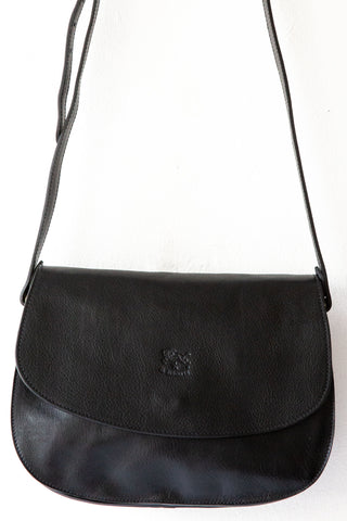 il bisonte 153 black large irina bag