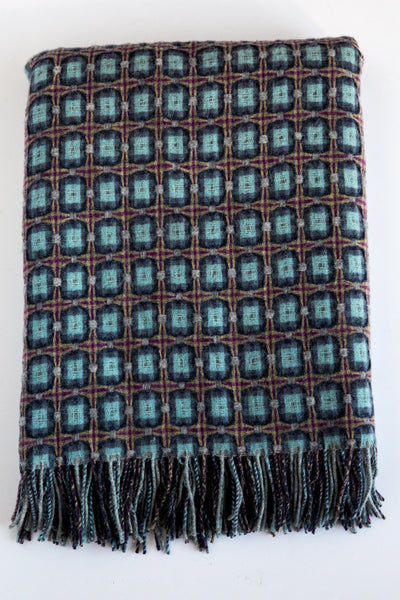 paulette rollo atlantic basket weave throw
