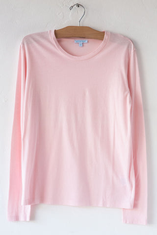 lost & found lt pink l/s tee