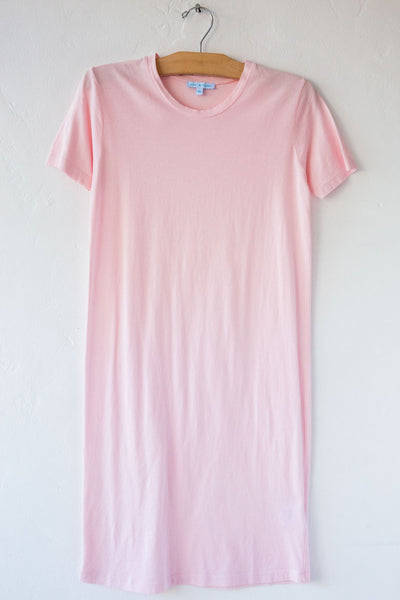 lost & found lt pink short sleeve tee dress