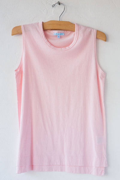 lost & found lt pink jersey sleeveless tee