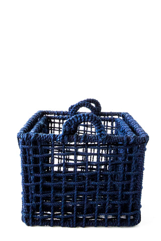 lost & found navy basket