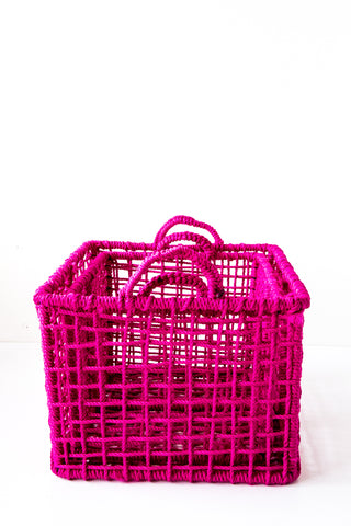 lost & found pink basket