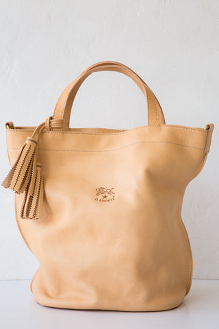 il bisonte natural stibbert bucket bag