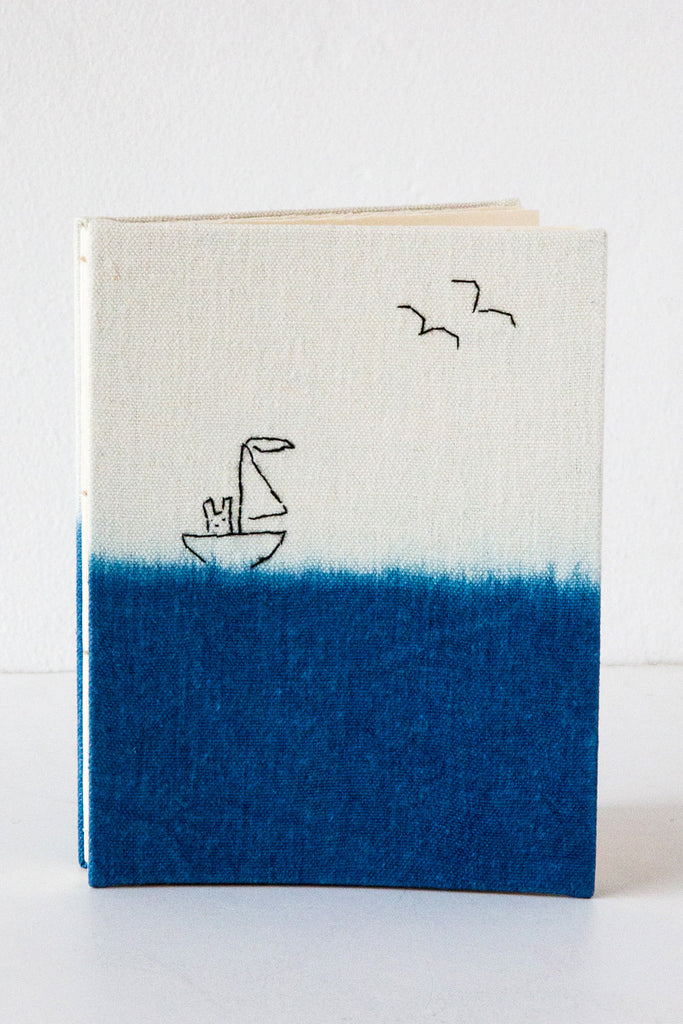 kata golda rabbit in a sailboat journal