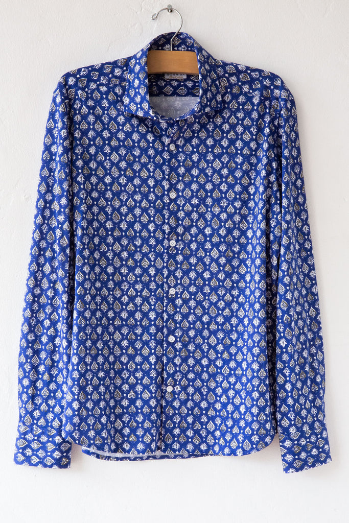 sonrisa royal print shirt