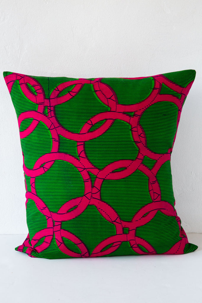 Csao Green Pink Pillow