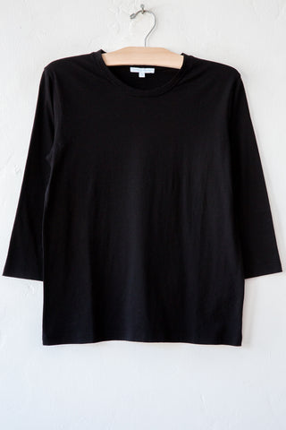 lost & found black 3/4 sleeve tee
