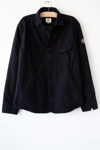 bsbee navy/black puffy jacket