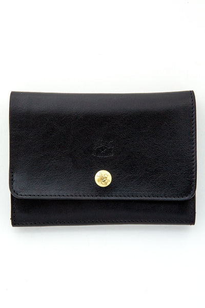 il bisonte black small wallet