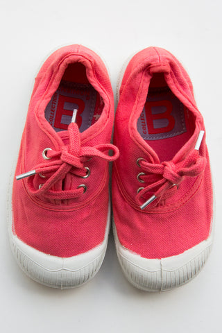bensimon pink lace tennis