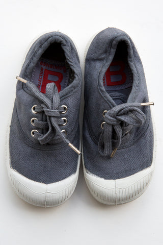 bensimon grey lace tennis