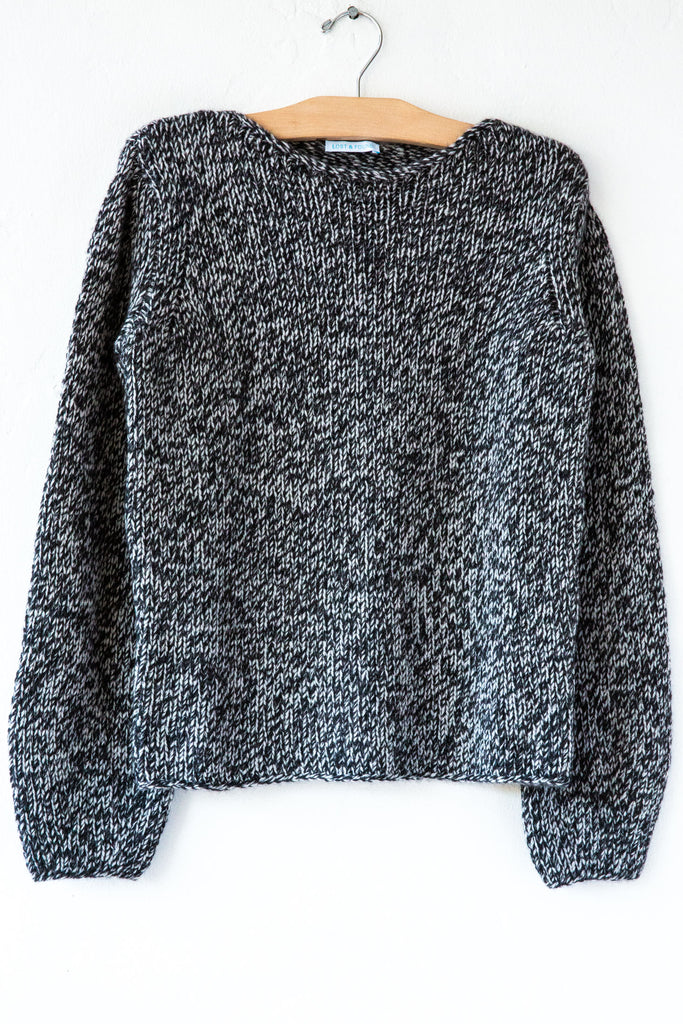 lost & found carbon sweater