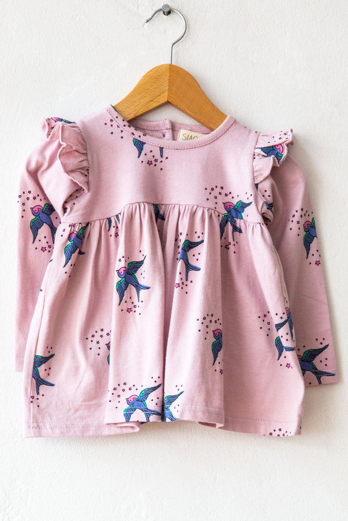 Siaomimi Ruffle Bird Dress