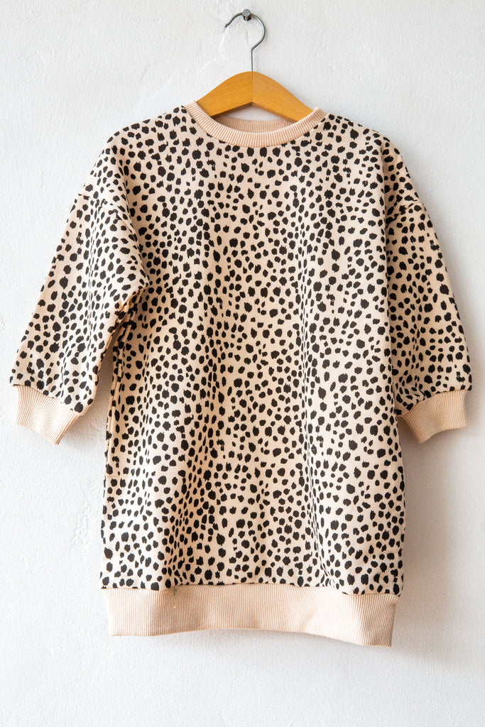 Siaomimi Leopard Tia Dress