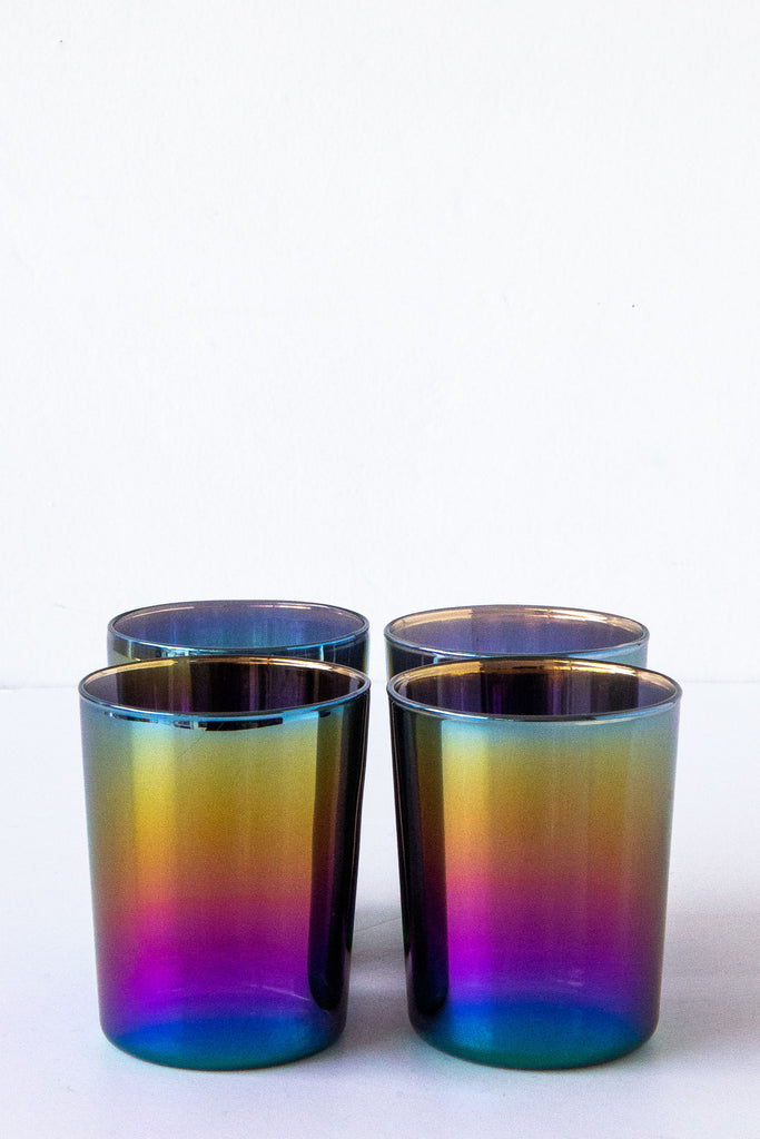 Design Ideas Shimmer Low Drinking Glass