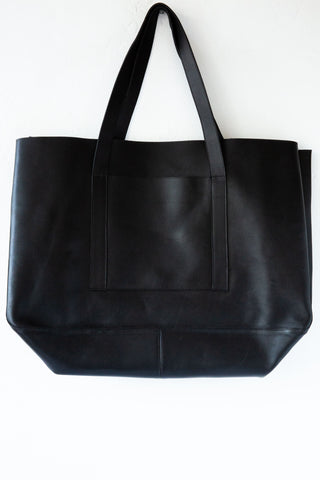 d/e goods black large tote
