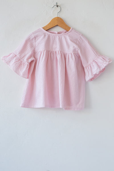 yellowpelota cherry wendy blouse