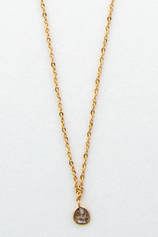 Marie Laure Chamorel Single Drop Necklace