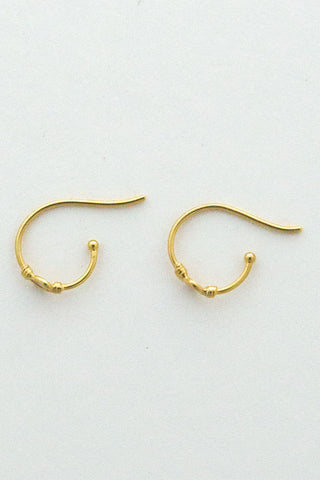 Marie Laure Chamorel Small Loop Earrings