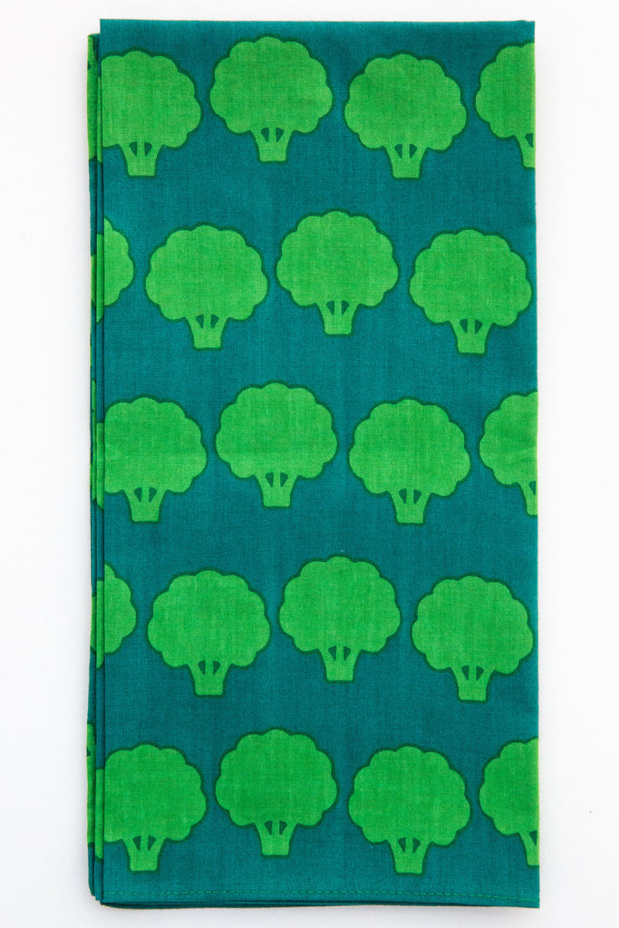 Furoshiki Broccoli Cloth / Napkin