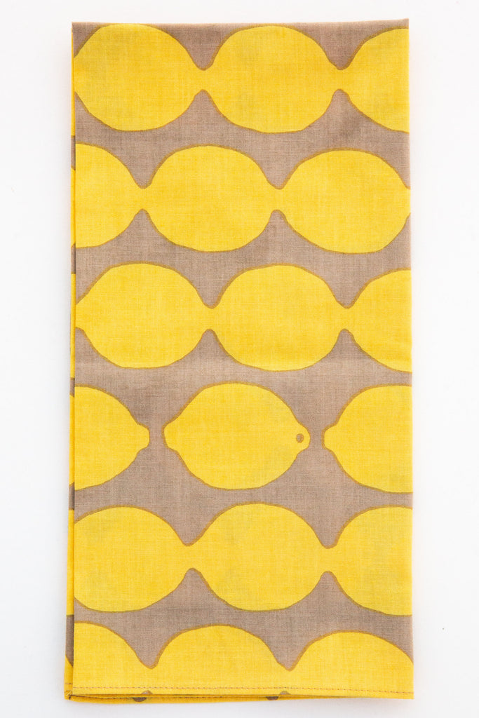 Furoshiki Lemon Cloth / Napkin