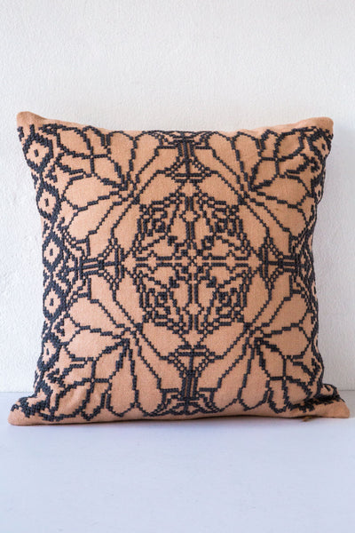 Aid to Artisan Charcoal Chalchihuitan Pillow
