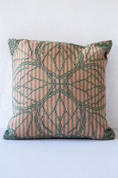 Aid to Artisan Green Chalchihuitan Pillow