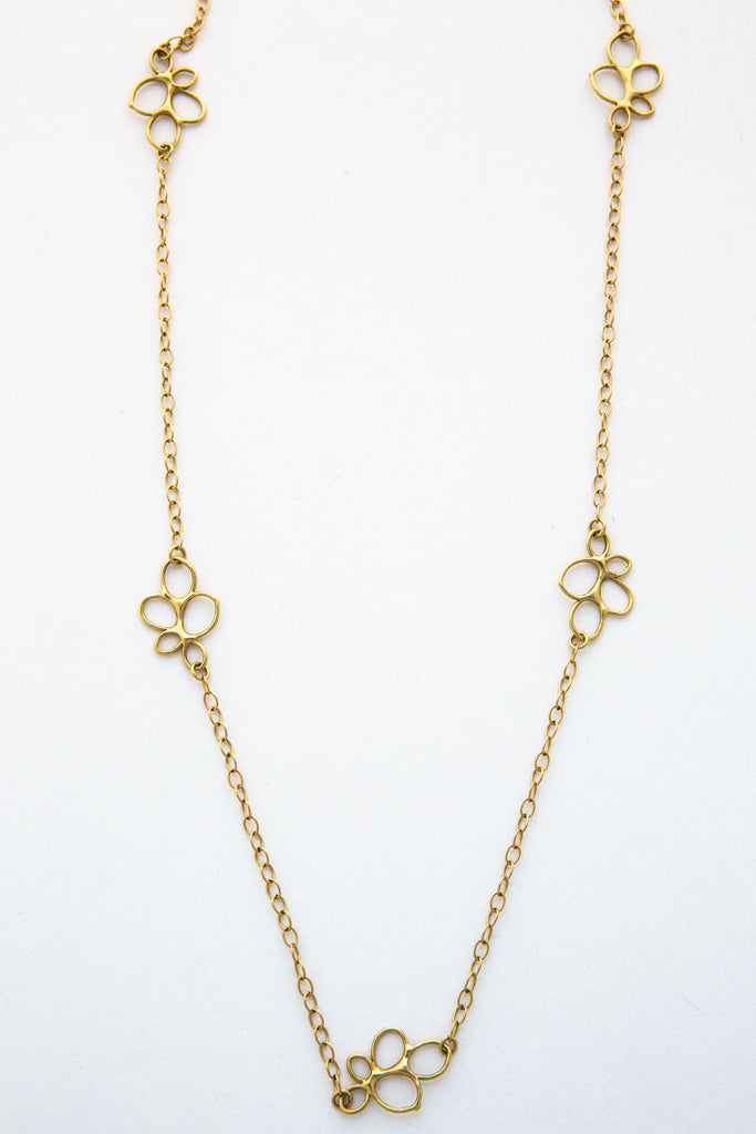 Lisa Ziff Daisy Necklace