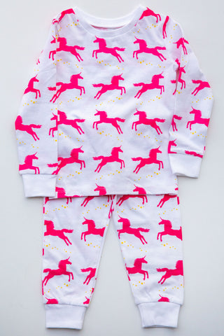 Eight Thousand Miles Unicorn Pajama Set