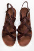 lost & found walnut tuscan sandal